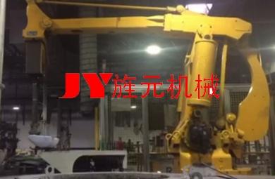 鑄造行業—澆鑄機器人